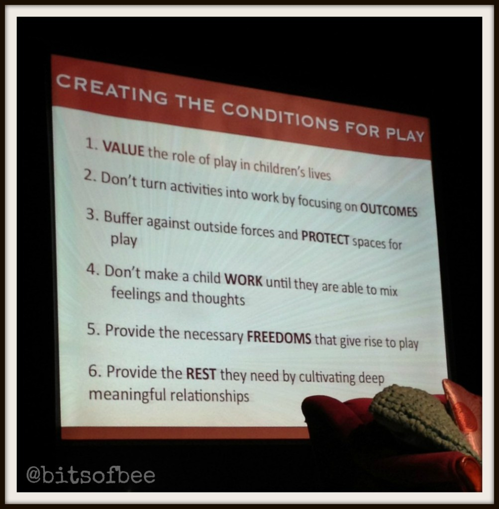6 steps to creating the conditions for play