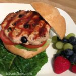 Recipe: Blueberry Turkey Burgers