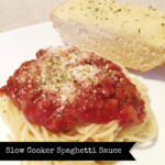 {RECIPE} Slow Cooker Spaghetti Sauce