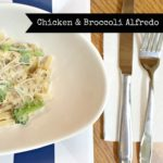 {RECIPE} Chicken And Broccoli Alfredo