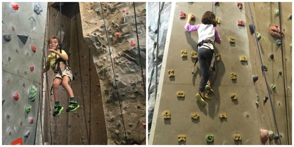 Rock Climbing Birthday Party