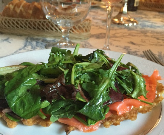 Galette de Pomme de Terre with Smoked Salmon